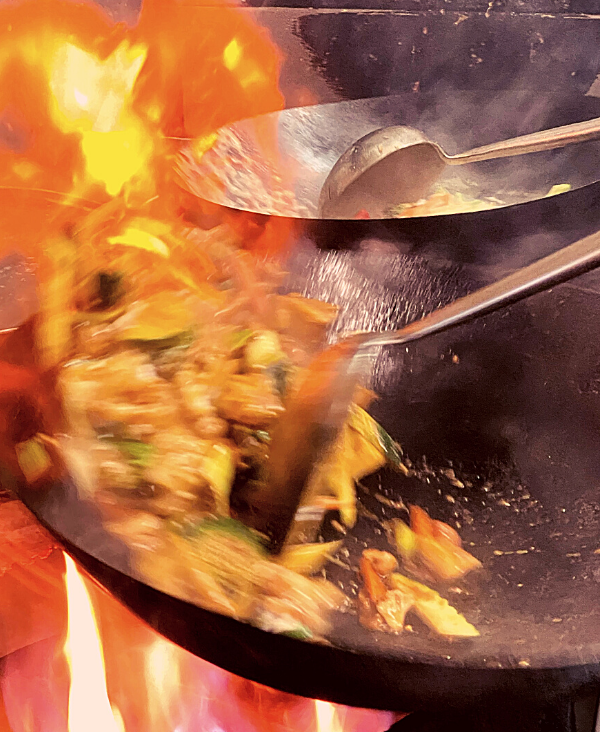 Thai Cooking at the Thai Mangonui